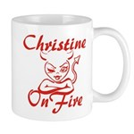 Christine On Fire Mug