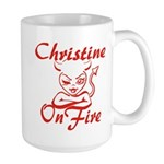 Christine On Fire Large Mug