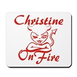 Christine On Fire Mousepad