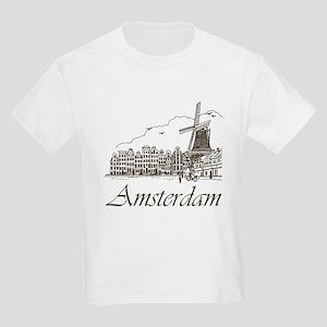 Vintage Amsterdam Kids Light T-Shirt