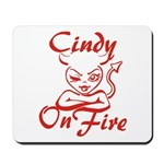 Cindy On Fire Mousepad