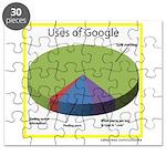 Google Uses Puzzle