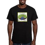 Google Uses Men's Fitted T-Shirt (dark)