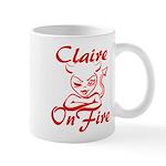 Claire On Fire Mug
