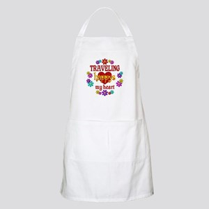 Traveling Happy Apron