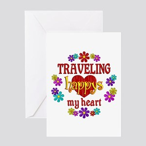 Traveling Happy Greeting Card