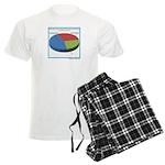 Pointless Chart Men's Light Pajamas