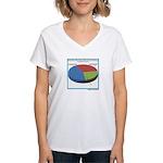 Pointless Chart Women's V-Neck T-Shirt