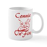 Connie On Fire Mug