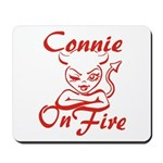Connie On Fire Mousepad