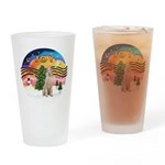 XMusic2-Spinone (w) Drinking Glass