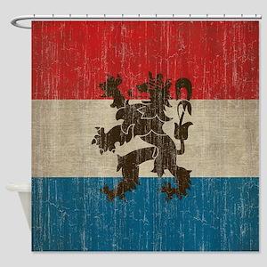 Vintage Netherlands Shower Curtain