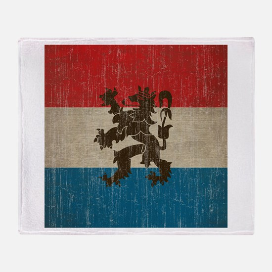 Vintage Netherlands Throw Blanket