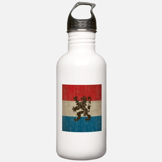 Vintage Netherlands Sports Water Bottle