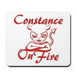 Constance On Fire Mousepad