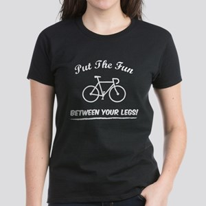 Put the fun between your legs! Women's Dark T-Shir