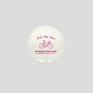 Put the fun between your legs! Mini Button