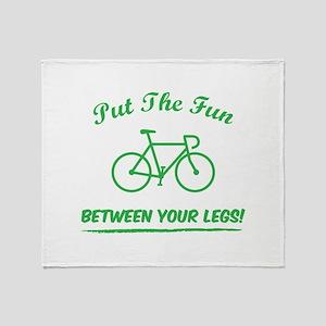 Put the fun between your legs! Throw Blanket