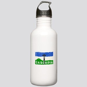 Cascadian Space Needle Stainless Water Bottle 1.0L
