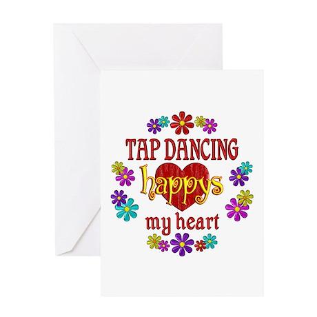 Tap Dancing Happy Greeting Card