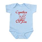 Cynthia On Fire Infant Bodysuit