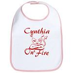 Cynthia On Fire Bib