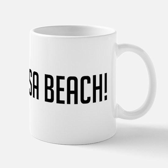 Go Hermosa Beach Mug