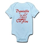 Danielle On Fire Infant Bodysuit