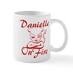 Danielle On Fire Mug