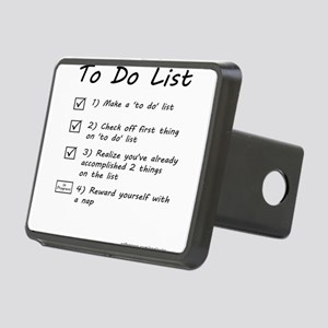 To Do List Rectangular Hitch Cover