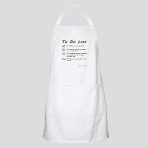To Do List Apron