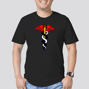 Caduceus, or Staff of Hermes Men's Fitted T-Shirt