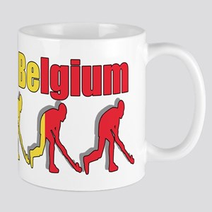 Belgium Field Hockey Mug