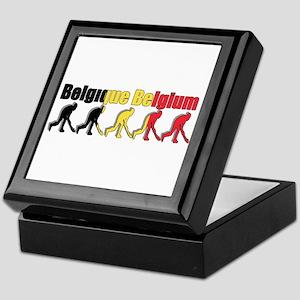 Belgium Field Hockey Keepsake Box