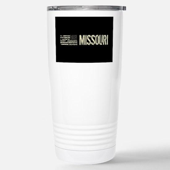 Black Flag: Missouri Stainless Steel Travel Mug