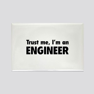 Trust me, I'm an engineer Rectangle Magnet