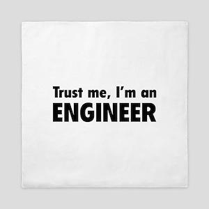 Trust me, I'm an engineer Queen Duvet