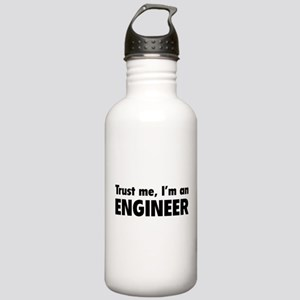 Trust me, I'm an engineer Stainless Water Bottle 1