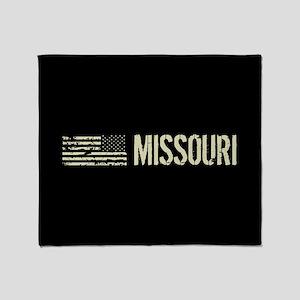 Black Flag: Missouri Throw Blanket
