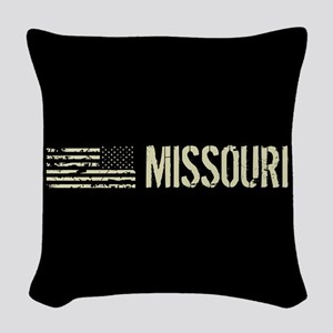 Black Flag: Missouri Woven Throw Pillow
