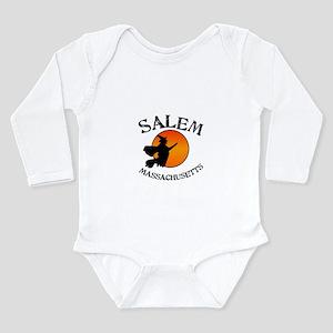 Salem Massachusetts Wi Long Sleeve Infant Bodysuit