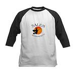 Salem Massachusetts Witch Kids Baseball Jersey
