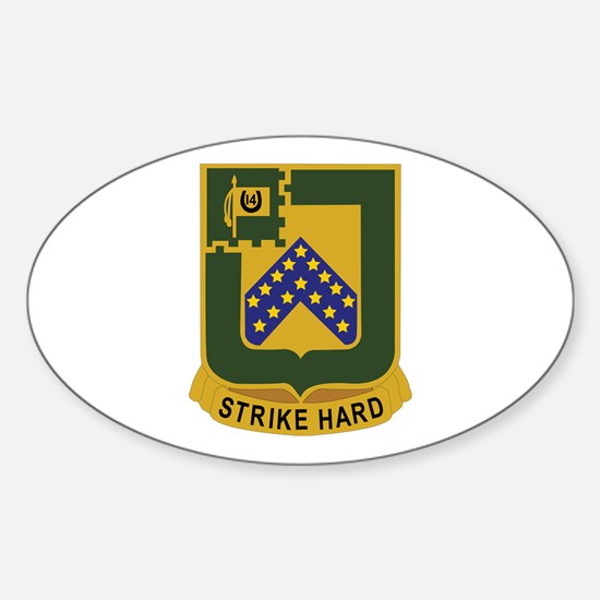 DUI - 2nd Squadron - 16th Cavalry Regiment Decal