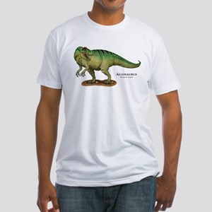 Allosaurus Fitted T-Shirt