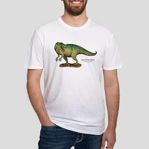 Allosaurus Fitted T-Shirt