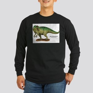 Allosaurus Long Sleeve Dark T-Shirt
