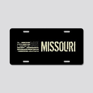 Black Flag: Missouri Aluminum License Plate