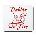 Debbie On Fire Mousepad