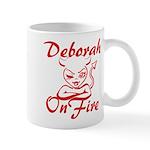 Deborah On Fire Mug
