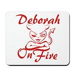Deborah On Fire Mousepad
